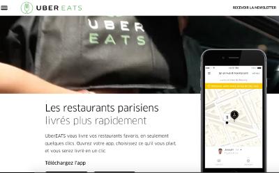 La livraison peut sauver la restauration ou la tuer UberEatsWeb