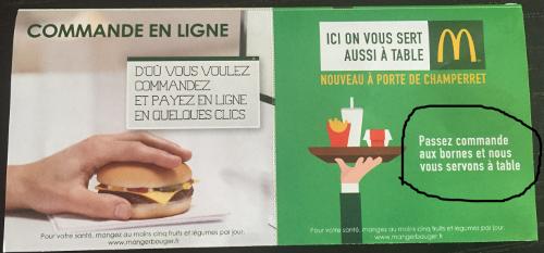 Le rapprochement du fast casual et de la restauration traditionnelle McDonalds