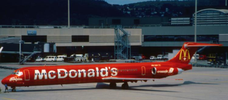 McDonald's avion
