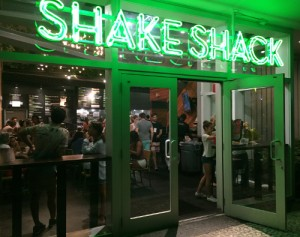 Shake Shack façade Lincoln Rd Store Miami Beach