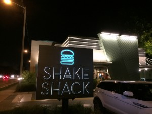 Shake Shack outside