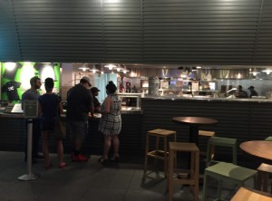 Shake Shack counter