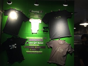 Shake Shack merchandising T-shirt