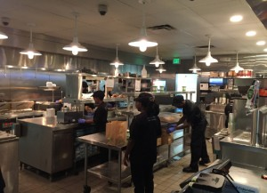 Shake Shack kitchen
