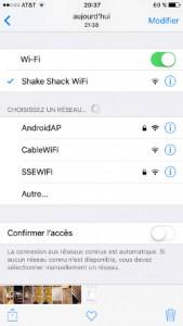 Shake Shack Wi-Fi