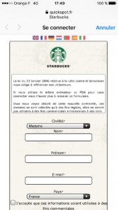 WiFi Starbucks