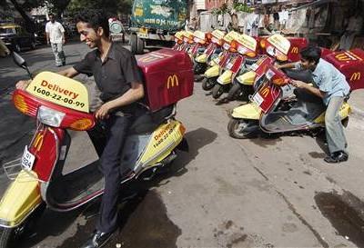 La livraison peut sauver la restauration ou la tuer McDoDeliveryIndia