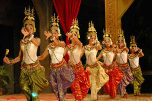 Apsara dancers